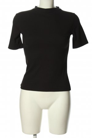 Zara Trafaluc Cut-Out-Top schwarz Casual-Look