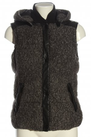 Zara Trafaluc Gilet en duvet gris clair style décontracté