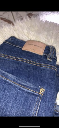 Zara Slim Jeans steel blue-dark blue