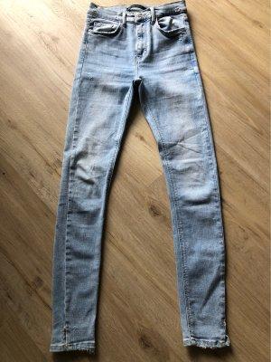 ZARA Trafaluc Denimwear Größe 36 hellblau