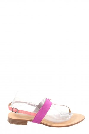 Zara Trafaluc Dianette Sandals brown-pink casual look