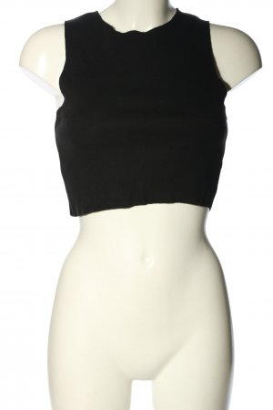 Zara Trafaluc Cropped Top schwarz Casual-Look