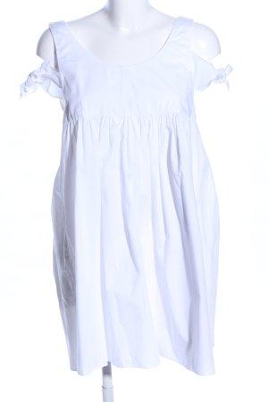 Zara Trafaluc Abito stile impero bianco stile casual