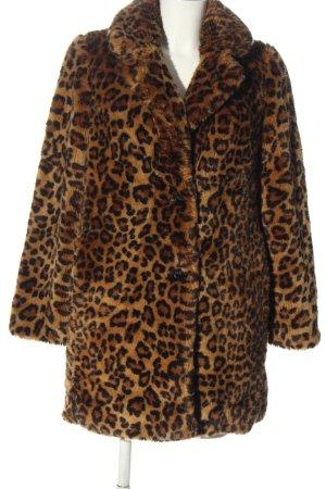 Zara Trafaluc Veste en fourrure imprimé allover style extravagant