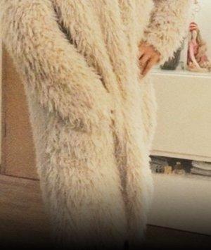 Zara Trafaluc Cappotto in eco pelliccia multicolore