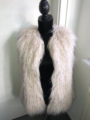 Zara Trafaluc Giacca in eco pelliccia multicolore