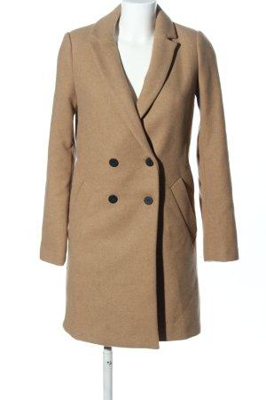 Zara Trafaluc Fleece Coats natural white business style