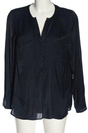 Zara Trafaluc Hemd-Bluse blau Casual-Look