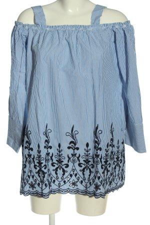 Zara Trafaluc Hemd-Bluse Allover-Druck Casual-Look