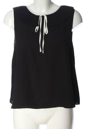 Zara Trafaluc Camicia blusa nero-bianco stile casual