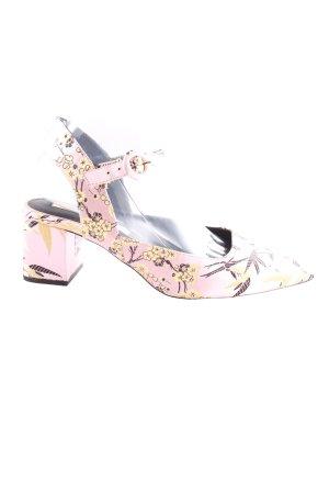 Zara Trafaluc High Heel Sandaletten Allover-Druck Casual-Look