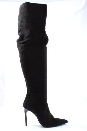 Zara Trafaluc High Heel Stiefel schwarz Elegant