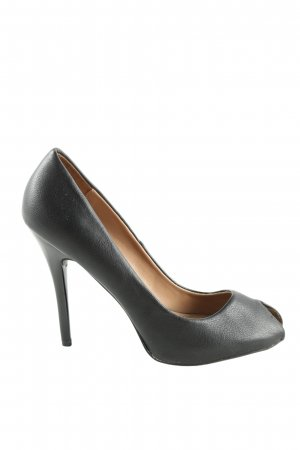 Zara Trafaluc High Heels schwarz Business-Look