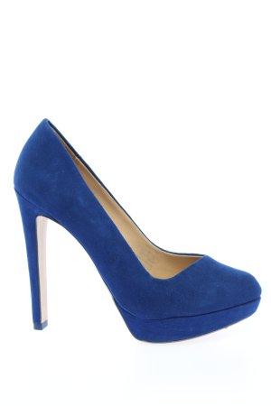 Zara Trafaluc High Heels blau Elegant