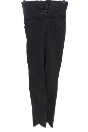 Zara Trafaluc High Waist Jeans schwarz Casual-Look