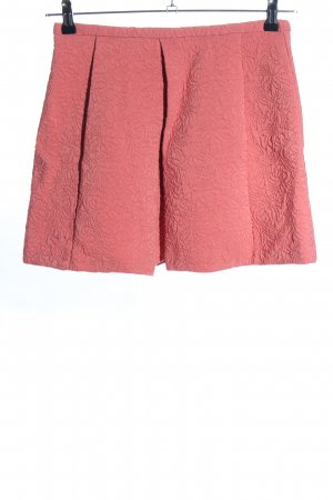 Zara Trafaluc High Waist Rock pink Mustermix Casual-Look