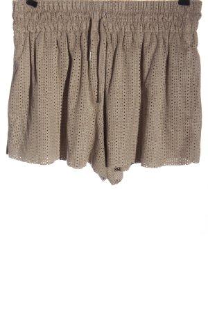 Zara Trafaluc High-Waist-Shorts braun Casual-Look