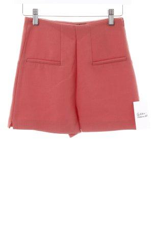 Zara Trafaluc High-Waist-Shorts lachs schlichter Stil