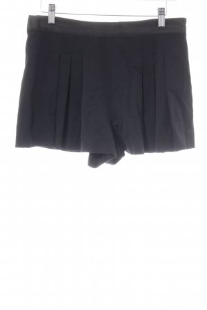 Zara Trafaluc High-Waist-Shorts schwarz Casual-Look