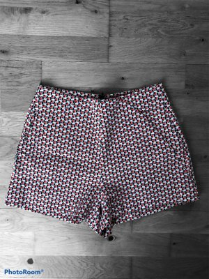 Zara Trafaluc Highwaist Shorts Aztekenmuster Sommer Summer XS 34