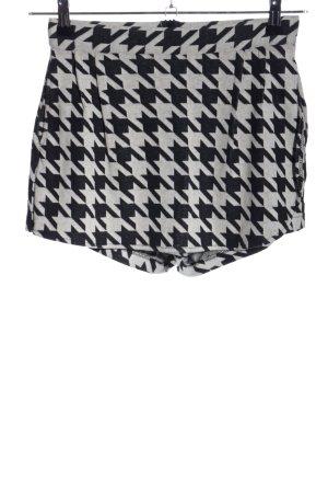 Zara Trafaluc Jupes-culottes noir-gris clair imprimé allover