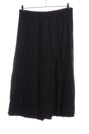 Zara Trafaluc Falda pantalón negro look casual