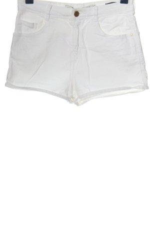 Zara Trafaluc Hot Pants weiß Casual-Look