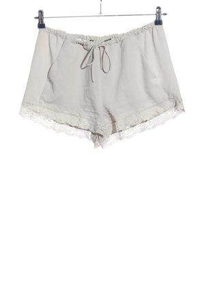 Zara Trafaluc Hot Pants hellgrau Casual-Look