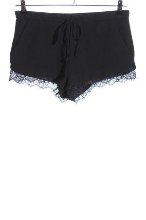 Zara Trafaluc Hot Pants schwarz Casual-Look
