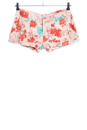 Zara Trafaluc Hot Pants Blumenmuster Casual-Look