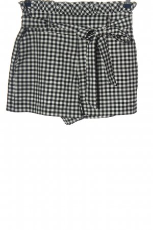 Zara Trafaluc Hot Pants Karomuster Casual-Look