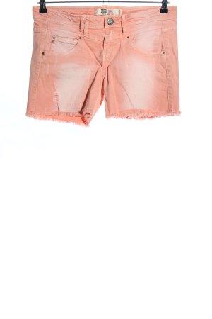 Zara Trafaluc Hot Pants nude Casual-Look