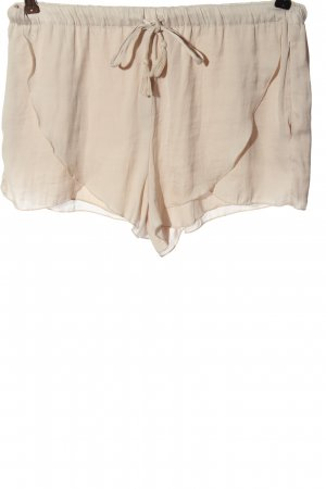 Zara Trafaluc Hot Pants creme Casual-Look