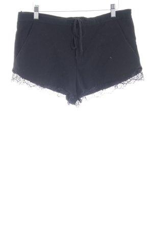 Zara Trafaluc Hot Pants schwarz Beach-Look