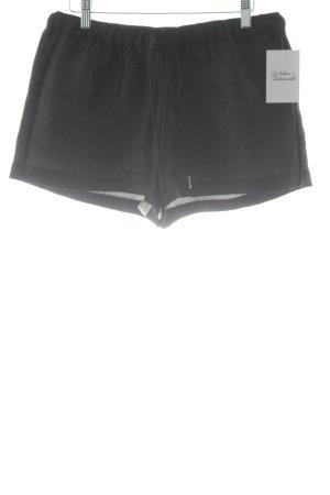 Zara Trafaluc Hot Pants schwarz Streifenmuster Beach-Look