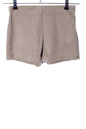 Zara Trafaluc Hot Pants wollweiß Casual-Look