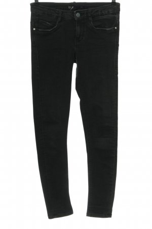 Zara Trafaluc Low Rise Jeans black casual look