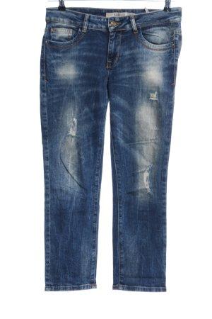 Zara Trafaluc Low Rise jeans blauw casual uitstraling