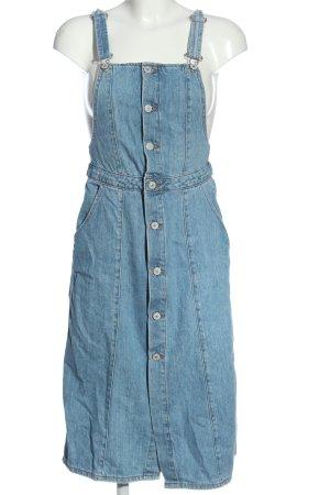 Zara Trafaluc Jeanskleid blau Casual-Look