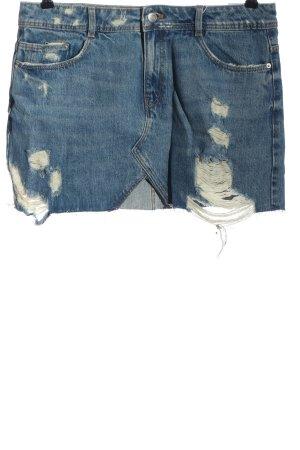 Zara Trafaluc Jeansrock blau Casual-Look