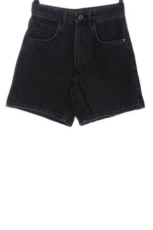 Zara Trafaluc Jeansowe szorty czarny W stylu casual
