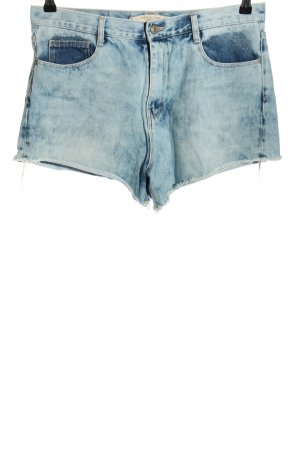 Zara Trafaluc Denim Shorts blue casual look