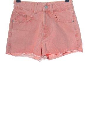Zara Trafaluc Jeansshorts pink Casual-Look