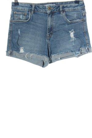 Zara Trafaluc Short en jean bleu style décontracté