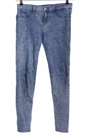 Zara Trafaluc Jeggings blu stile casual