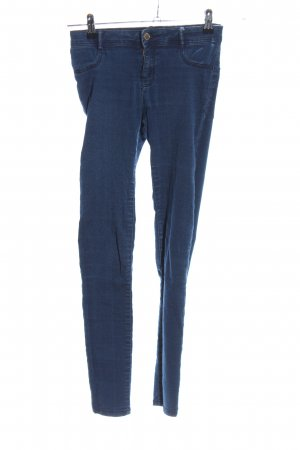 Zara Trafaluc Jeggings blau Casual-Look