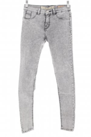 Zara Trafaluc Jeggings hellgrau Casual-Look