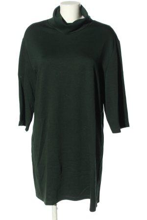 Zara Trafaluc Jersey Dress green casual look