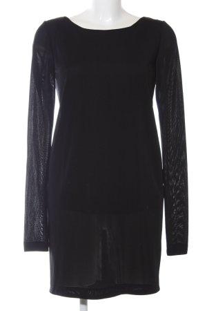 Zara Trafaluc Jerseykleid schwarz Casual-Look