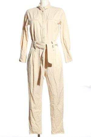 Zara Trafaluc Jumpsuit creme Casual-Look